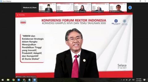 Sah! Rektor UGM Jabat Ketua FRI Periode 2021-2022