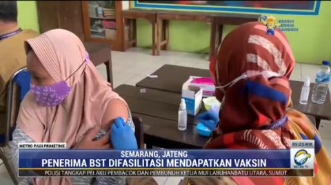 Warga Semarang Wajib Sudah Divaksin untuk Menerima Bansos Tunai