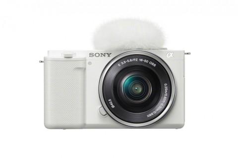 Sony Luncurkan Kamera Berlensa Lepas Tukar untuk Vlogger
