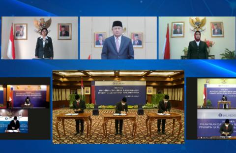 Gubernur BI Lantik 7 Pemimpin Baru Kantor Perwakilan