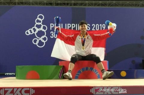 Olimpiade Tokyo: Lakukan Debut, Lifter Rahmat Erwin Beri Kejutan