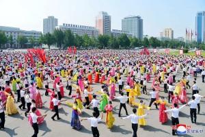 Foto: Pesta Dansa Peringatan 68 Tahun Berakhirnya Perang Korea