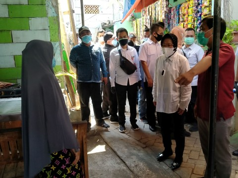 Mensos Risma: Penyaluran Bansos di Kota Tangerang Paling Berat