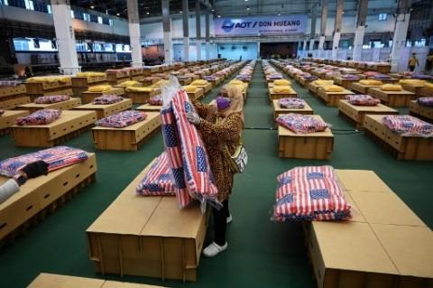 Penularan Covid-19 Melonjak, Thailand Bangun Rumah Sakit di Bandara