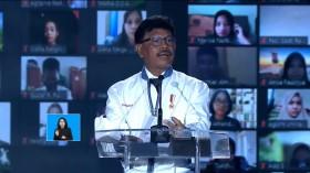 Menkominfo Johnny Taruh Harapan Besar di Digital Talent Scholarship 2021