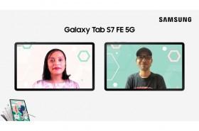 Samsung Galaxy Tab S7 FE 5G Hadir di Indonesia, Harganya?