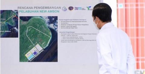 November 2021, Ambon New Port Siap <i>Groundbreaking</i>