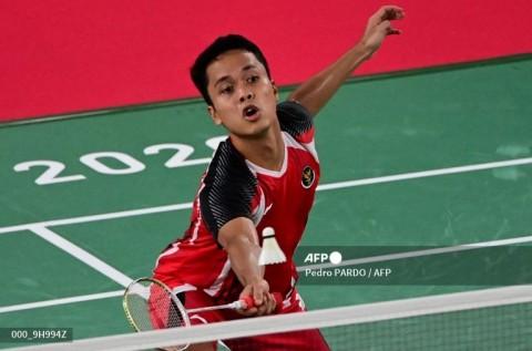 Atasi Wakil Jepang, Anthony Ginting ke Perempat Final