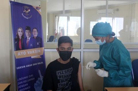 NasDem NTT Targetkan Vaksinasi 3.000 Orang hingga Akhir 2021