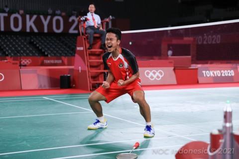 Ini Rahasia Anthony Ginting Tembus Semifinal Olimpiade Tokyo