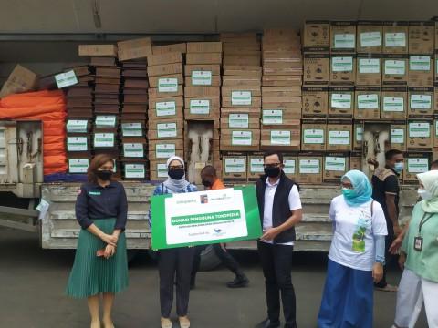 Tokopedia Sumbang Ribuan Barang Penunjang Isoman ke Pemkot Bogor
