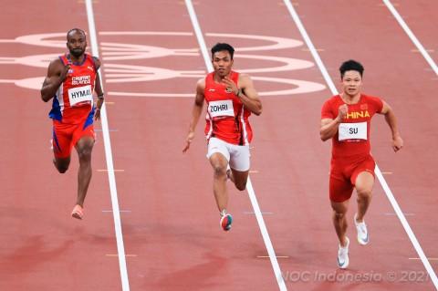 Gagal Maksimal di Tokyo, Lalu Muhammad Zohri Ingin Bangkit di Olimpiade Paris