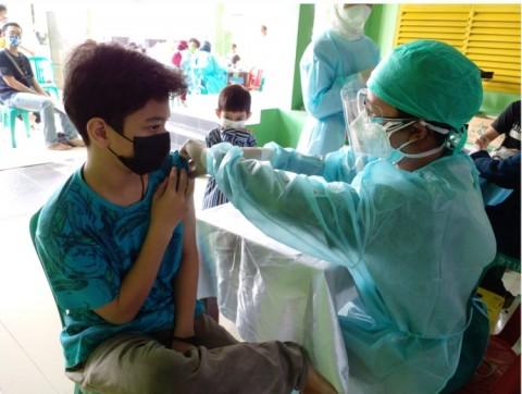 TNI Sasar Permukiman Warga di Bogor Perluas Vaksinasi