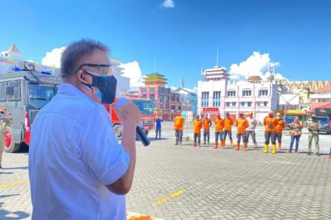 Pemprov Sulut Sebar Petugas Disinfektan ke 15 Daerah