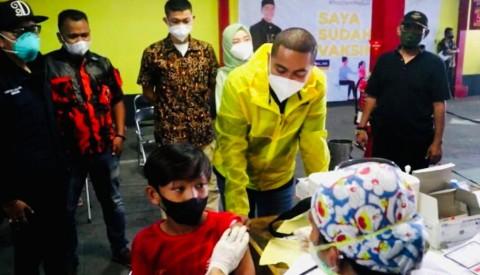 Vaksinasi Jemput Bola NasDem Kebanjiran Apresiasi