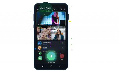 Video Call Telegram Kini Bisa 1.000 Pengguna Sekaligus