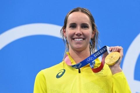 Perenang Australia Emma McKeon Ukir Sejarah Olimpiade
