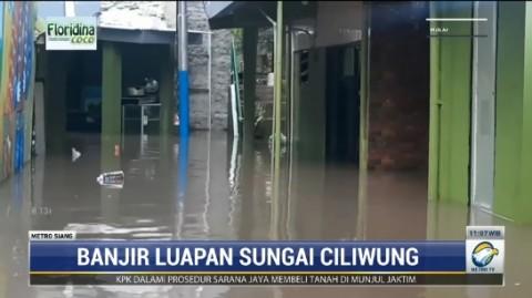 Permukiman Warga di Kebon Pala Terendam Banjir