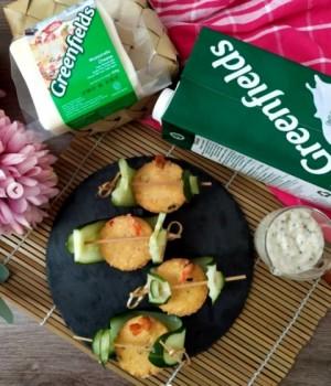 Resep Tahu Udang dengan Creamy Garlic Sauce