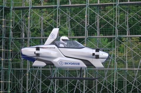 Mobil Terbang Bakal Ada Di Langit Jepang 2025