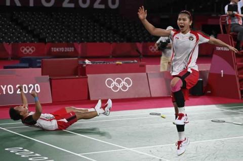 Netizen Serbu Momen Kemenangan Greysia-Apriyani di Olimpiade Tokyo 2020