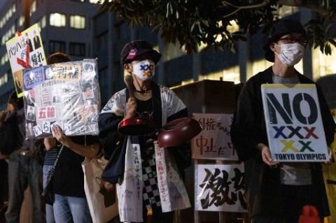 Angka Covid-19 Melonjak, Aktivis Jepang Tuntut Olimpiade Dihentikan