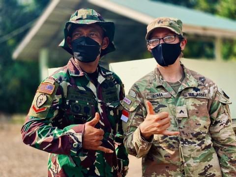 TNI AD dan US Army Latihan Bersama dalam Garuda Shield 2021