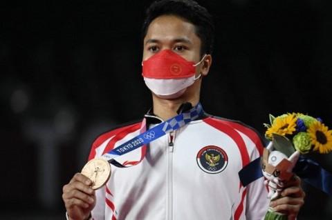 Anthony Ginting Sumbang Perunggu, Indonesia Berada di Peringkat 35