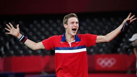 Axelsen Rebut Medali Emas Bulu Tangkis Olimpiade Tokyo
