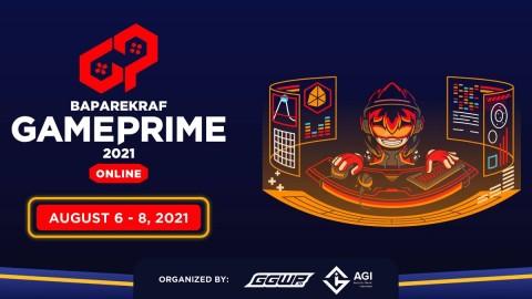 Baparekraf Game Prime 2021 Digelar, Usung #MainGameLokal