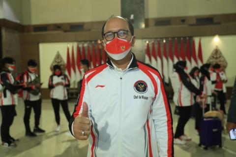Roeslani Optimistis Indonesia Bertahan di Posisi 40 Besar di Olimpiade Tokyo