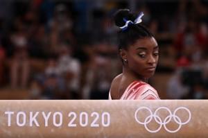 Simone Biles Akhiri Olimpiade Tokyo dengan Raihan Perunggu