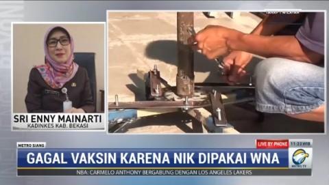 WNA Pakai NIK Warga untuk Vaksinasi Covid-19 Diminta Ditelusuri