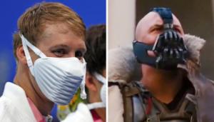 Mirip 'Bane' di Film Batman, Ini Fakta Masker Keren Buatan Nike yang Dipakai Atlet USA di Olimpiade Tokyo 2020