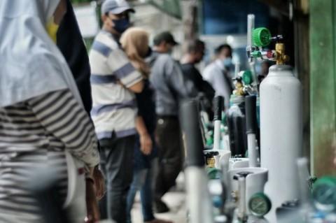 80 Ton Oksigen Dikirim ke Surabaya Via Kereta