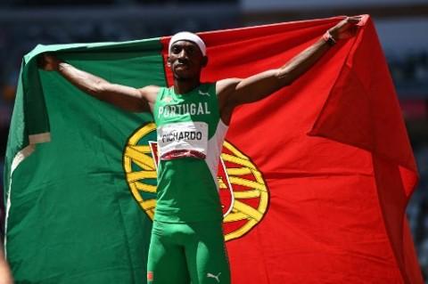 Atlet Portugal Kuasai Lompat Jangkit Putra Olimpiade Tokyo