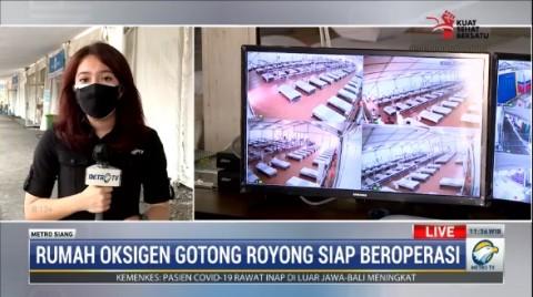 Rumah Oksigen Gotong Royong Jaktim Siap Beroperasi