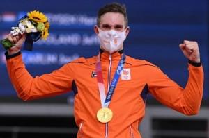 Lavreysen Kembali Harumkan Belanda di Balap Sepeda Trek Olimpiade