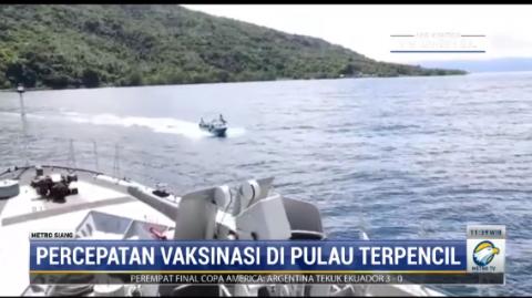 TNI AL Gelar Vaksinasi Covid-19 di Atas Kapal di Kupang