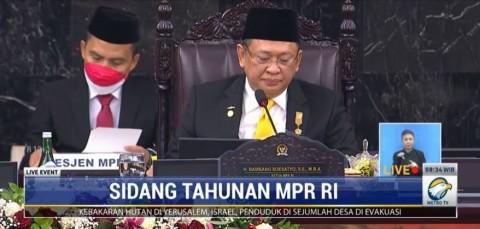 Buka Sidang Tahunan MPR, Bamsoet Singgung Vaksinasi Ideologi