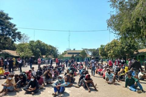 Ratusan Pelintas Ilegal Asal Timor Leste Dideportasi