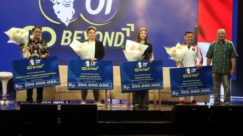Pahlawan Olimpiade Greysia/Apriyani dan Eko Yuli kembali Diguyur Bonus