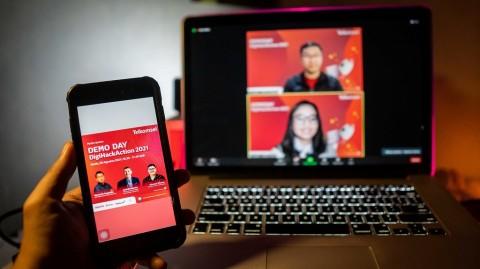 Telkomsel DigiHackAction Umumkan 3 Ide Terbaik Solusi Sektor Periklanan Digital