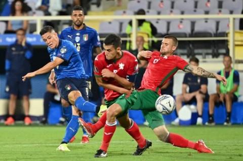 Kualifikasi Piala Dunia 2022: Italia Ditahan Imbang Bulgaria