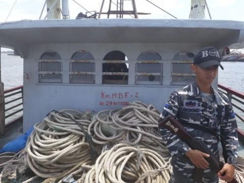 KKP Amankan Dua Kapal Tangkap Ikan Pengguna <i>Trawl</i>