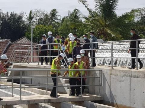Pemerintah Targetkan SPAM Lampung Selesai Tahun Depan