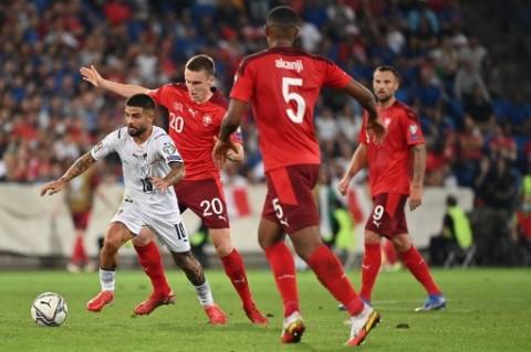 Imbang dengan Swiss, Italia Pecahkan Rekor tak Terkalahkan