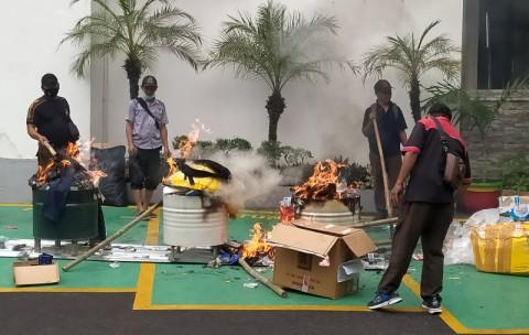 Kejari Kota Tangerang Musnahkan Barang Bukti 247 Perkara Pidana