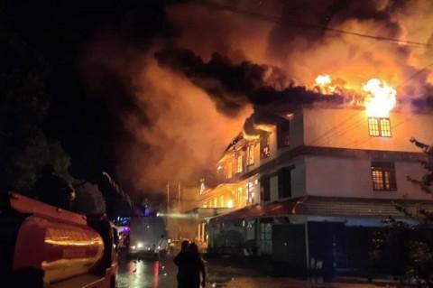 Polisi: Sumber Api Kebakaran LP Tangerang dari Atas Plafon