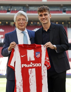 Balik ke Atletico Madrid dengan Rambut Baru, Griezmann <i>Auto Gacor</i>?